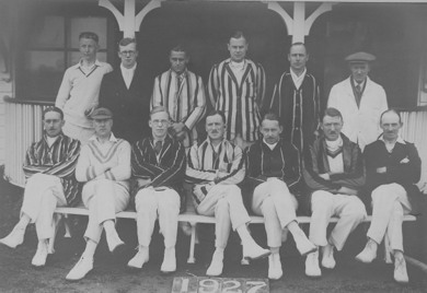 Romany CC Team 1927