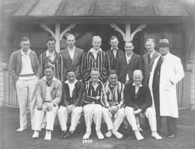 Romany CC Team 1935